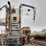 railcar tank loading