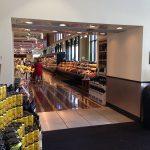 grocery store air door