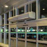 hospital air curtains