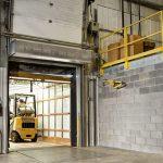 shipping facility air door