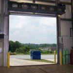 refuse areas air curtains