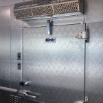 cooled air door freezers