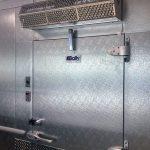 cooled air door freezers