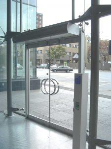 office space air door