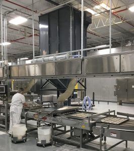 Baghouse food processing dust collection