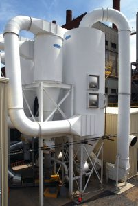 cyclone dust collector chemicals