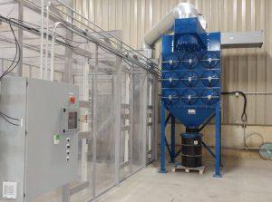 automotive dust collection system