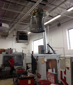 CNC Dust Collection System