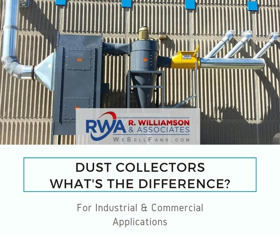 whats the difference between industrial dust collectors